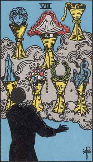 You are currently viewing Seven of Cups card of the day